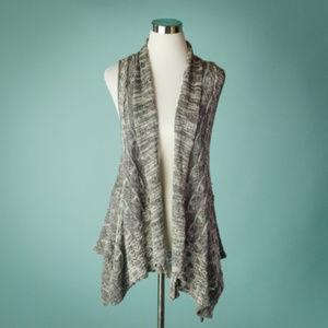 Anthro Moth Women's XS/S Gray Lavena Sweater Vest